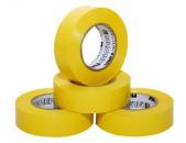Изолента ПОЛИМЕР ПВХ 15 мм 15 м желтая (Россия)