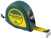 Рулетка Kraftool GRAND 10м / 25мм ABS пластик,  покрытие ant-slip