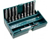 Kraftool Набор бит 25/50 мм в боксе с магнитным адаптером, 18 предметов 26131-H18