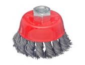 ЕРМАК Щетка металл  65мм-М14 крученая чашка
